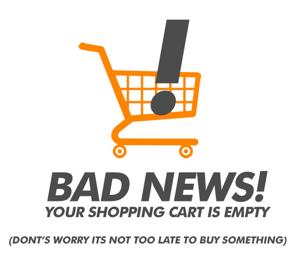 Your Cart Is Empty!